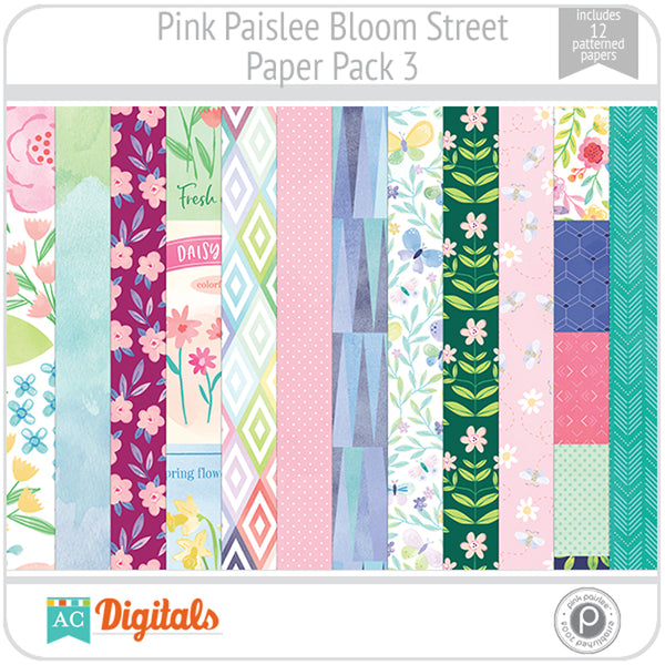 Bloom Street Paper Pack 3