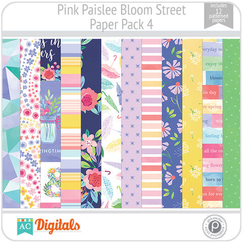 Bloom Street Paper Pack 4