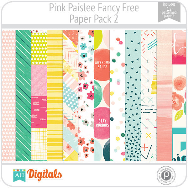 Fancy Free Paper Pack 2