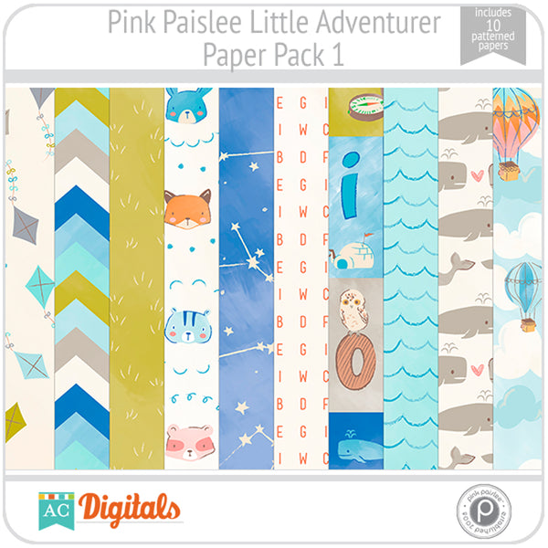 Little Adventurer Paper Pack 1