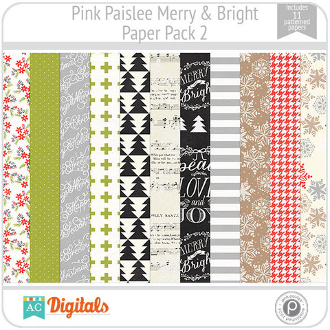 Merry & Bright Paper Pack 2