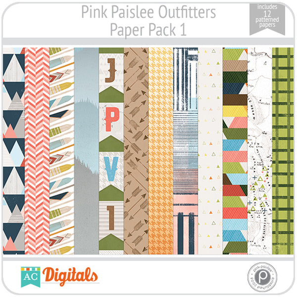 Outfitters Paper Pack 1