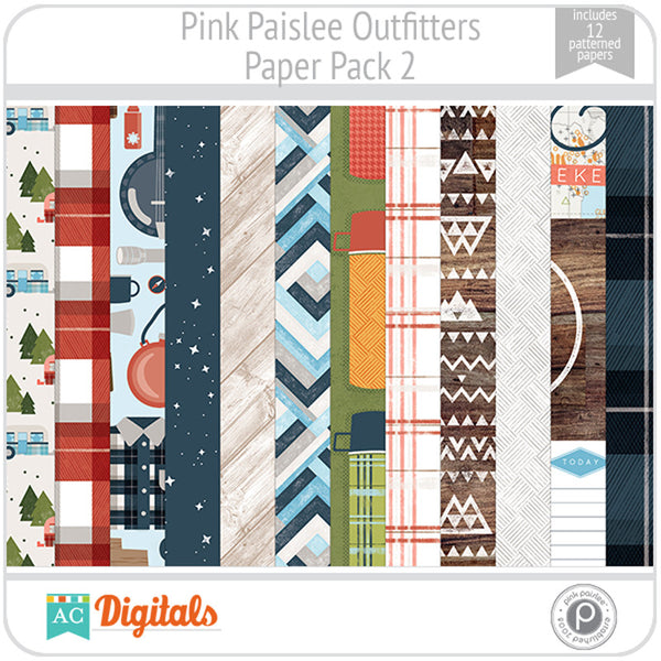 Outfitters Paper Pack 2