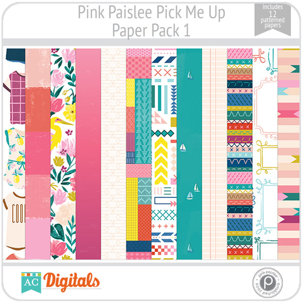 Pick Me Up Paper Pack 1