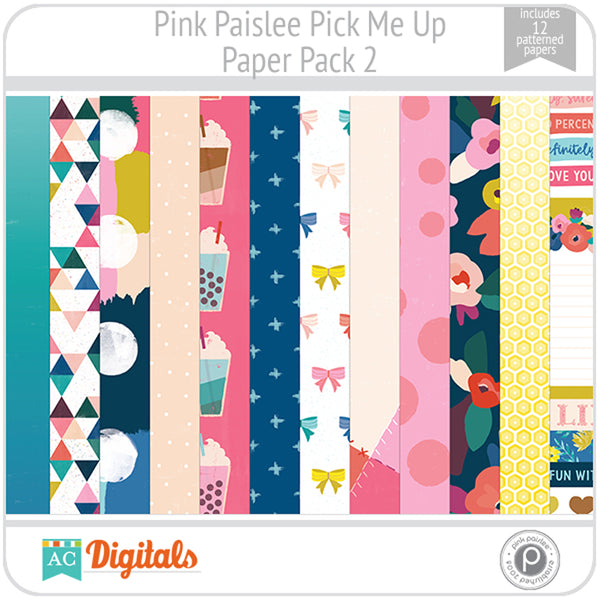 Pick Me Up Paper Pack 2
