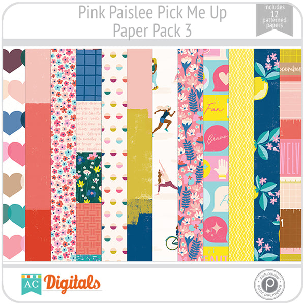 Pick Me Up Paper Pack 3