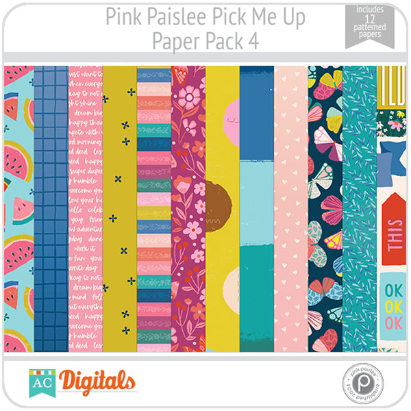 Pick Me Up Paper Pack 4