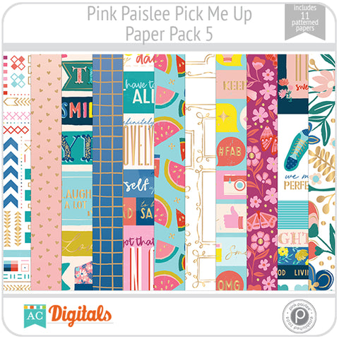 Pick Me Up Paper Pack 5