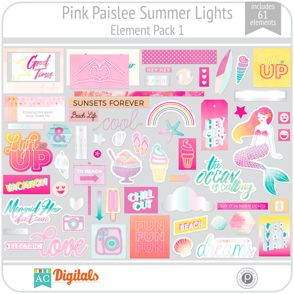 Summer Lights Element Pack 1