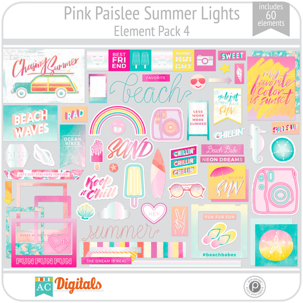 Summer Lights Element Pack 4