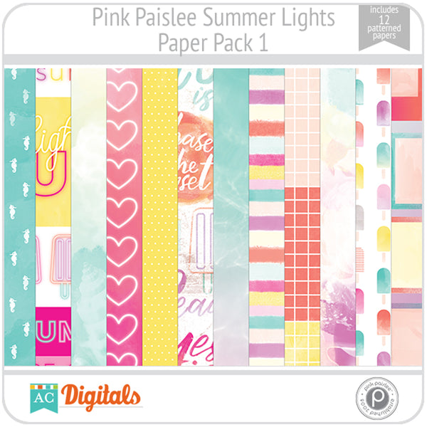Summer Lights Paper Pack 1