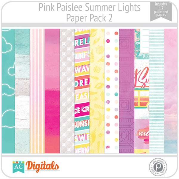 Summer Lights Paper Pack 2