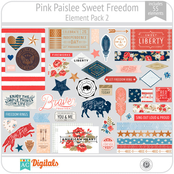 Sweet Freedom Element Pack 2