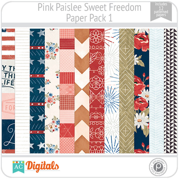 Sweet Freedom Paper Pack 1