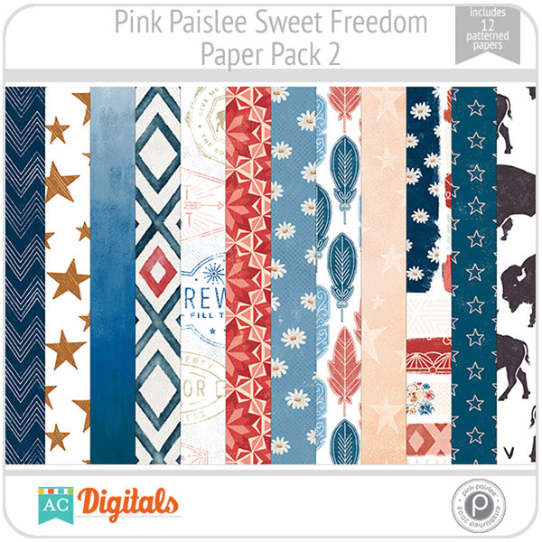 Sweet Freedom Paper Pack 2