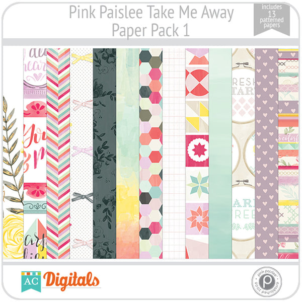 Take Me Away Paper Pack 1