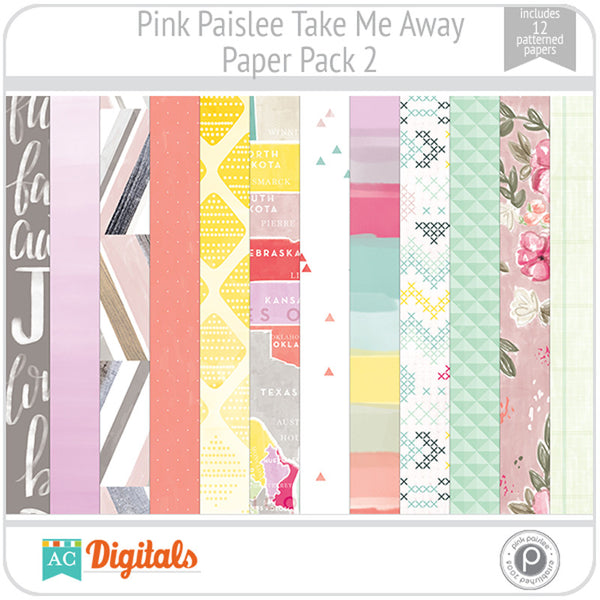 Take Me Away Paper Pack 2