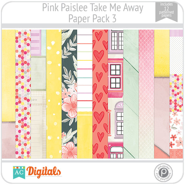 Take Me Away Paper Pack 3