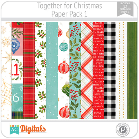 Together For Christmas Paper Pack 1