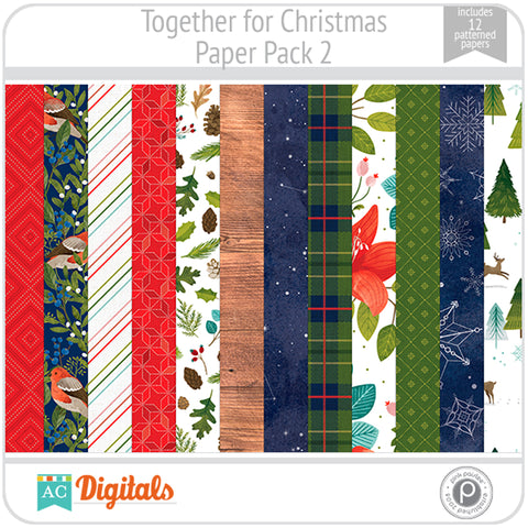 Together For Christmas Paper Pack 2