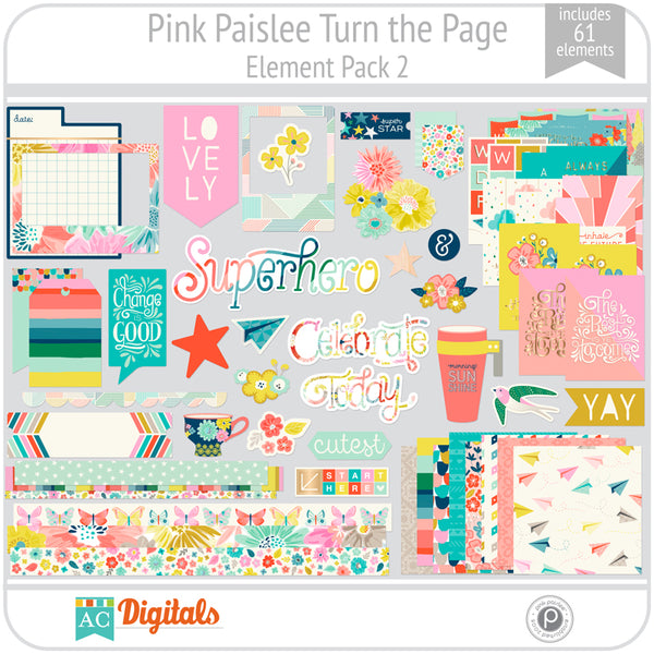 Turn the Page Element Pack 2