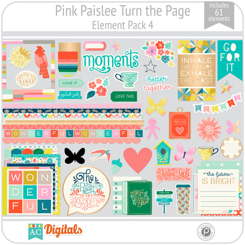 Turn the Page Element Pack 4