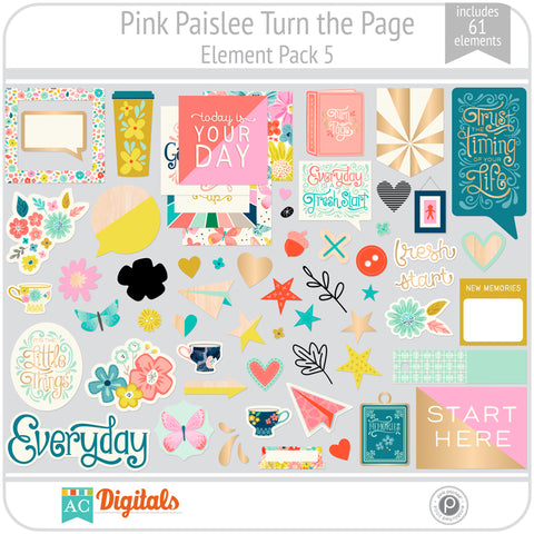 Turn the Page Element Pack 5