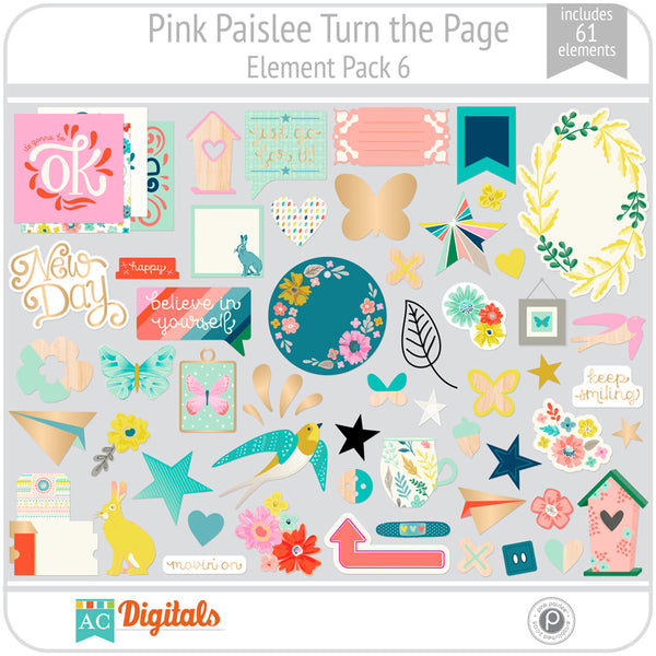 Turn the Page Element Pack 6