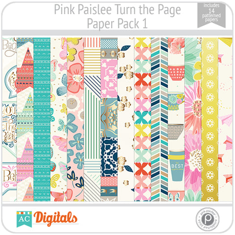 Turn the Page Paper Pack 1