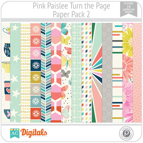 Turn the Page Paper Pack 2