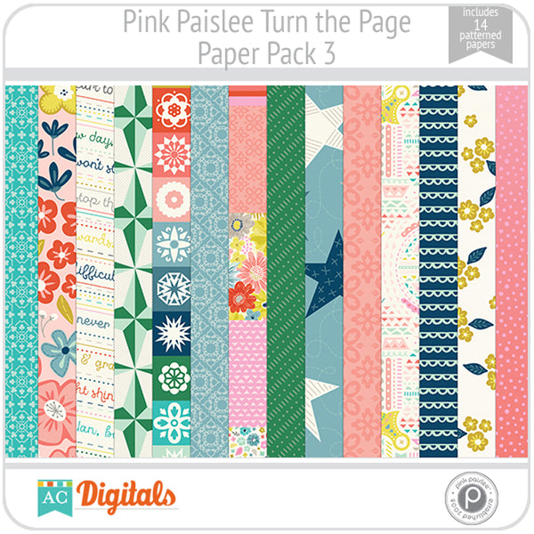 Turn the Page Paper Pack 3