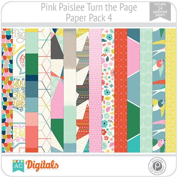 Turn the Page Paper Pack 4