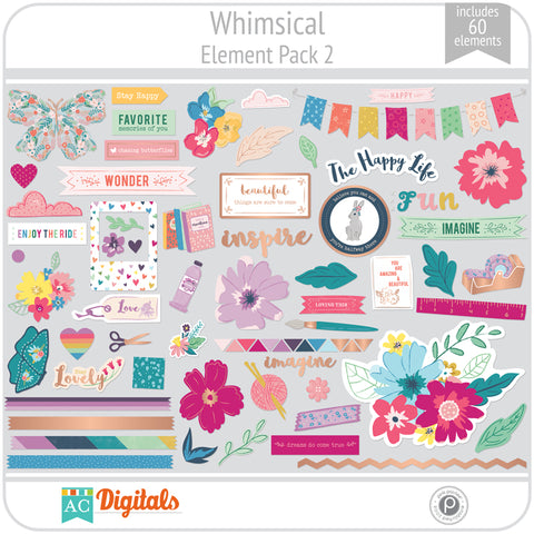 Whimsical Element Pack 2