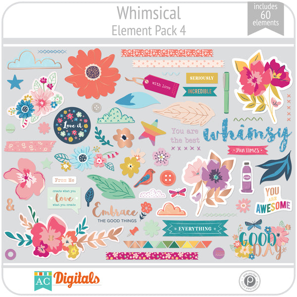 Whimsical Element Pack 4