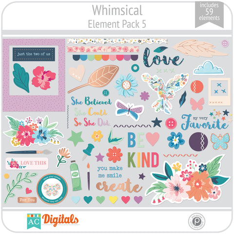 Whimsical Element Pack 5