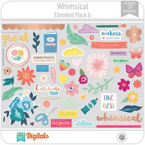 Whimsical Element Pack 6
