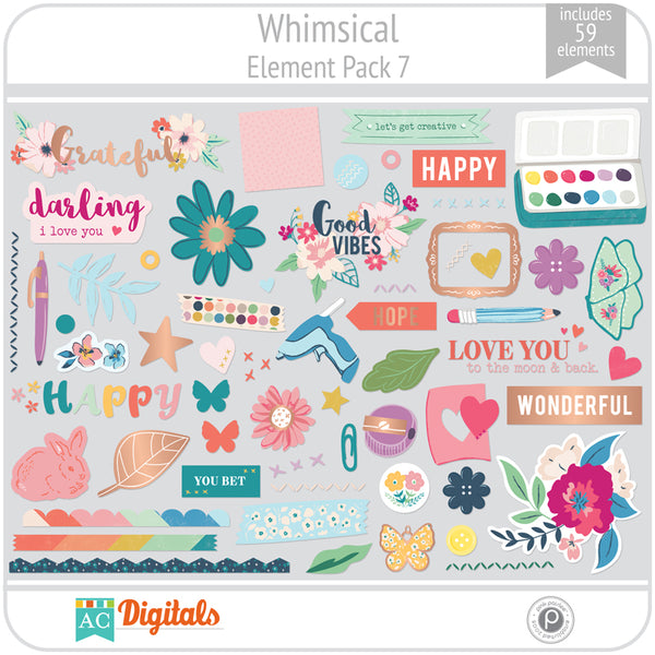 Whimsical Element Pack 7
