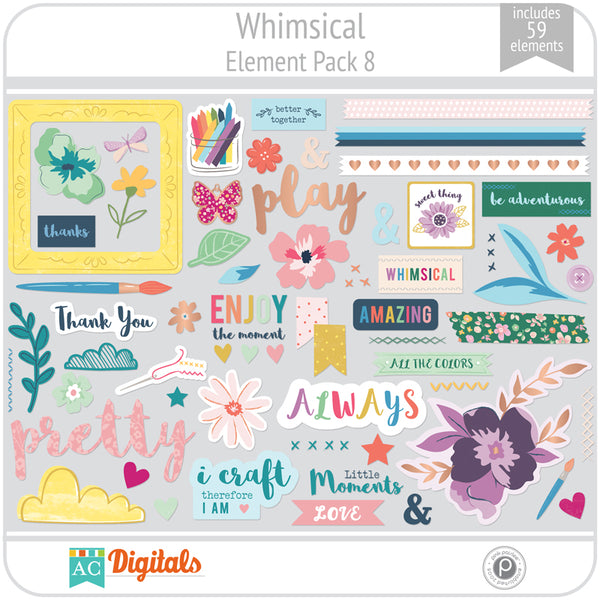 Whimsical Element Pack 8
