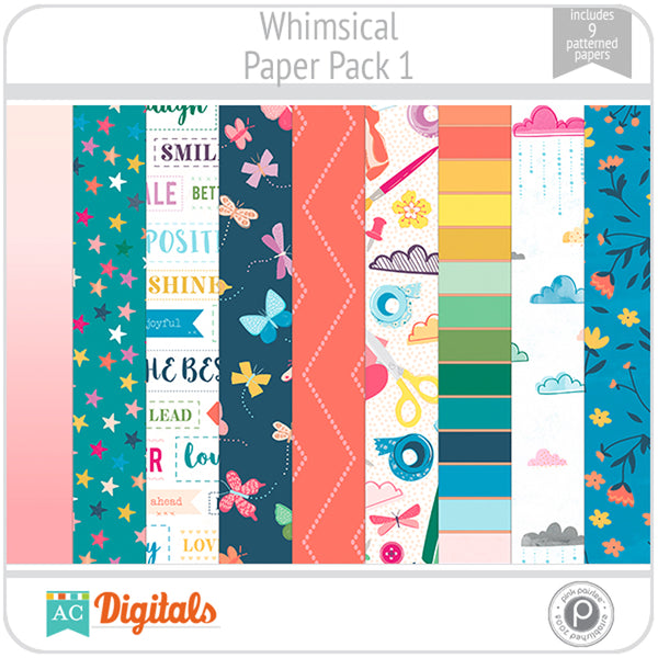 Whimsical Paper Pack 1