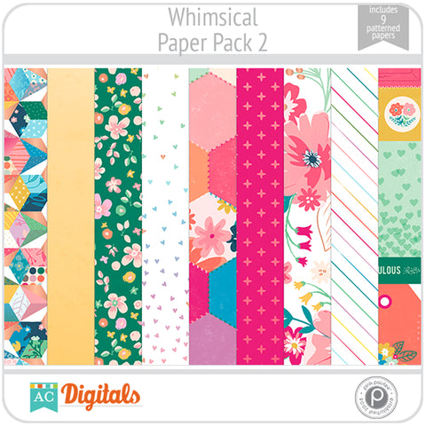Whimsical Paper Pack 2