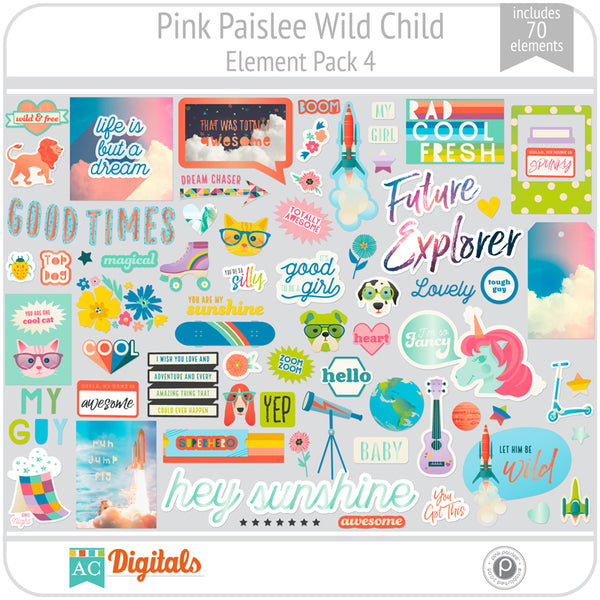 Wild Child Element Pack 4
