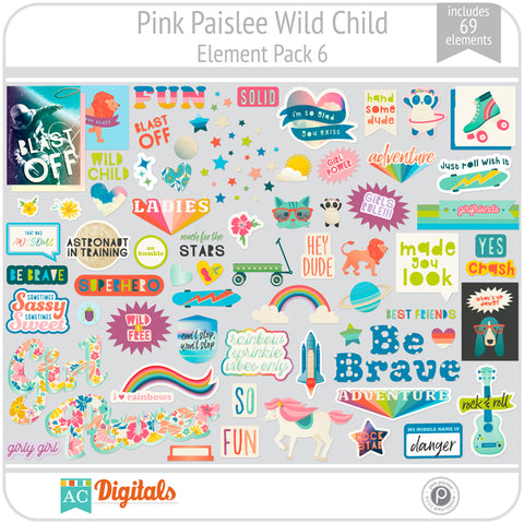 Wild Child Element Pack 6