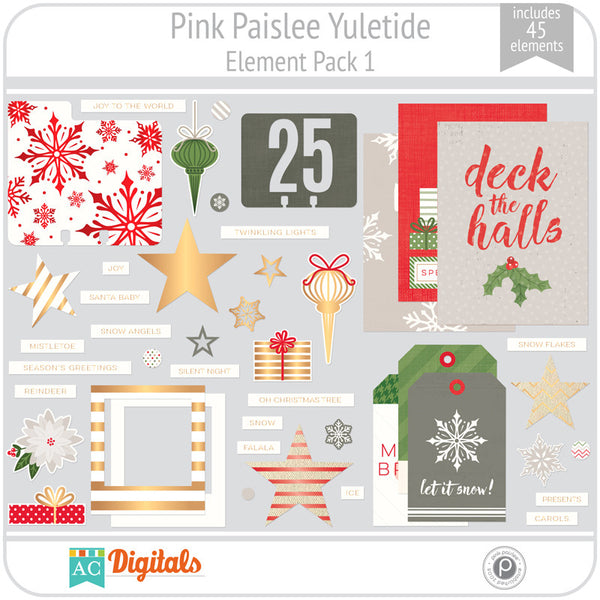 Yuletide Element Pack 1