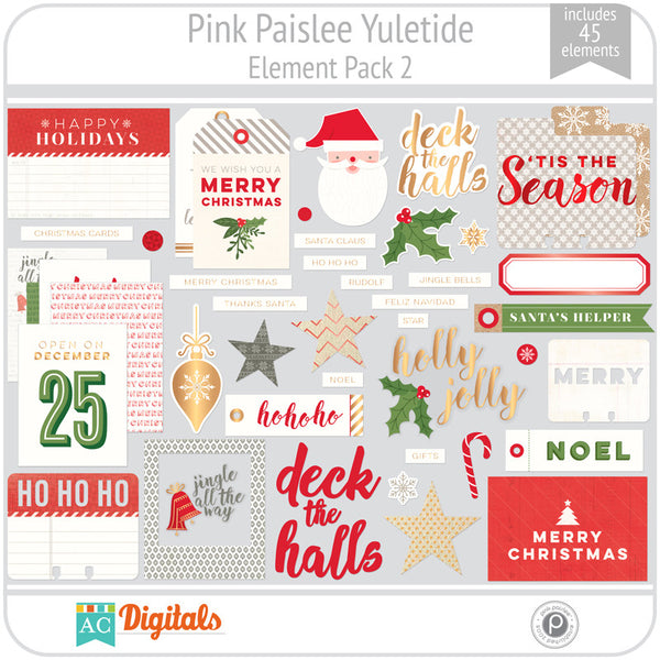Yuletide Element Pack 2