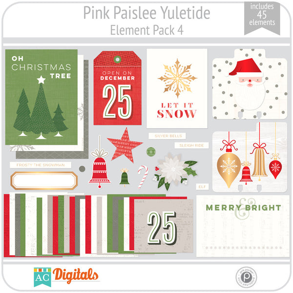 Yuletide Element Pack 4