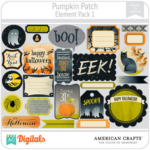 Pumpkin Patch Element Pack #1