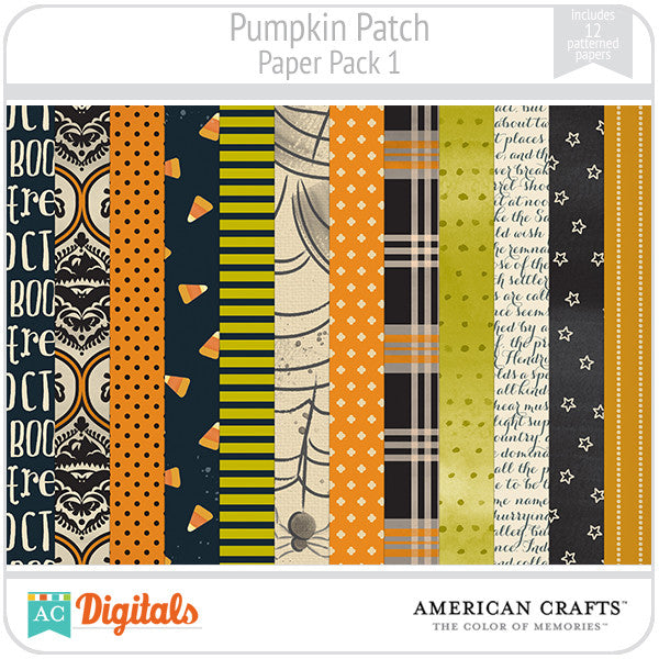 Pumpkin Patch Paper Pack #1