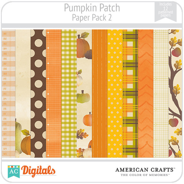 Pumpkin Patch Paper Pack #2