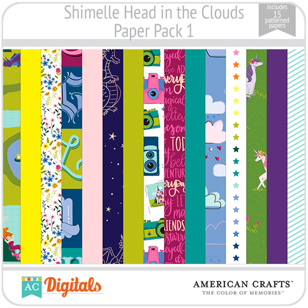 Head in the Clouds Paper Pack 1