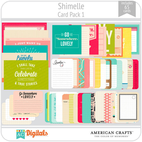 Shimelle Journaling Cards 1